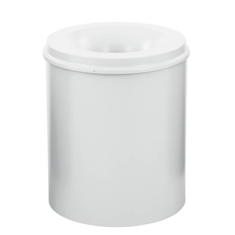Image of   Brandhæmmende affaldsspand, 80 l, hvid *Denne vare tages ikke retur*
