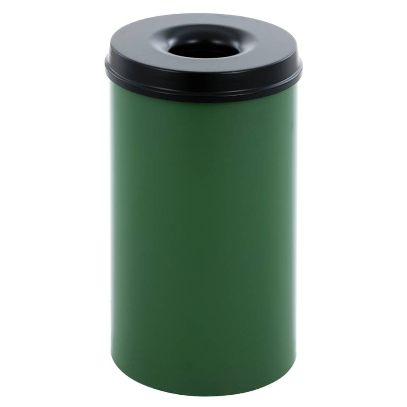 Image of   Brandhæmmende affaldsspand, 50 l, grøn *Denne vare tages ikke retur*
