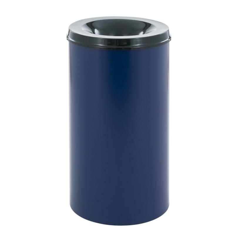 Image of   Brandhæmmende affaldsspand, 50 l, blå *Denne vare tages ikke retur*