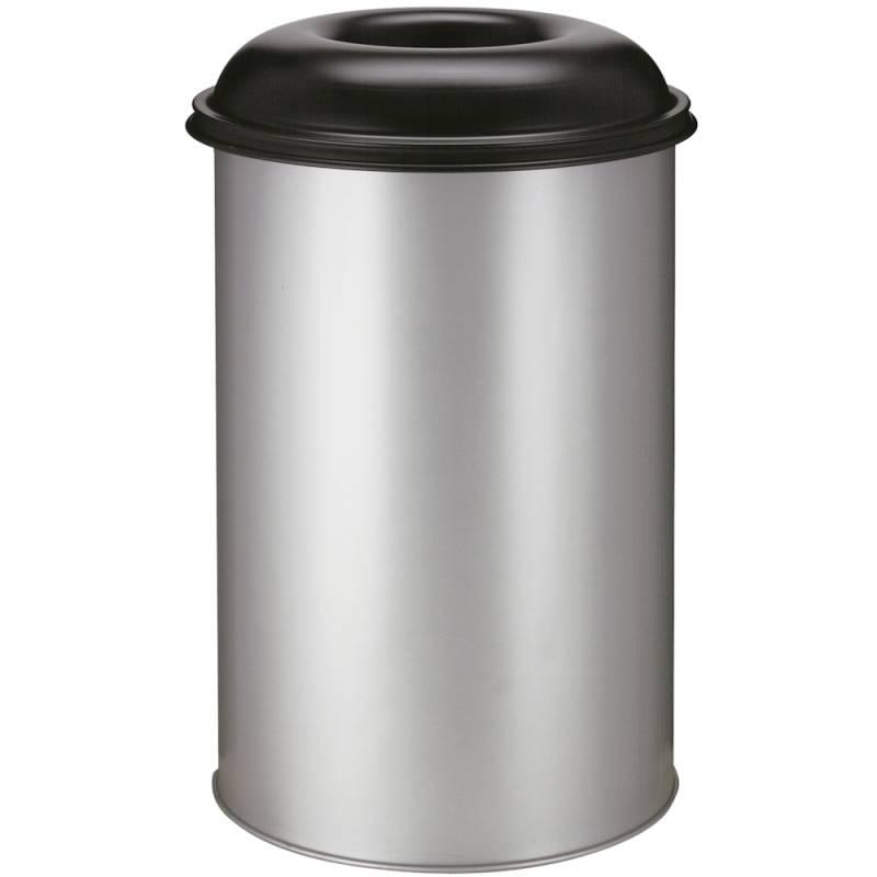 Image of   Brandhæmmende affaldsspand, 200 l, alu *Denne vare tages ikke retur*