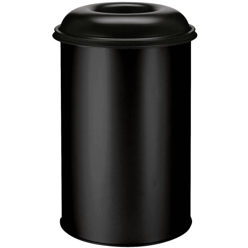 Image of   Brandhæmmende affaldsspand, 200 l, sort *Denne vare tages ikke retur*
