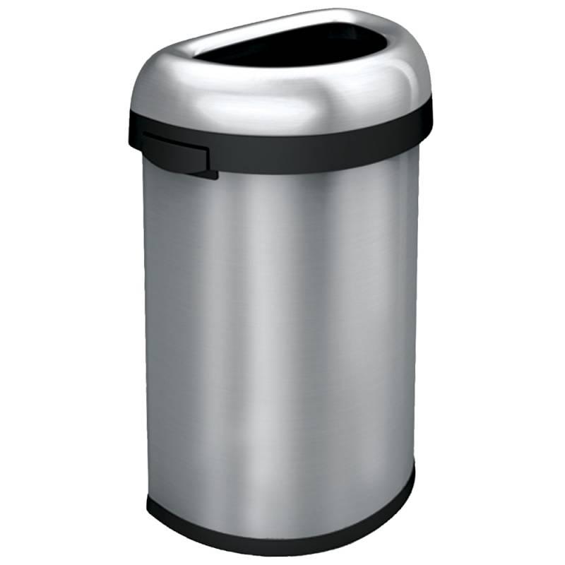 Image of   Affaldsspand, Simplehuman, 60 l, stål *Denne vare tages ikke retur*