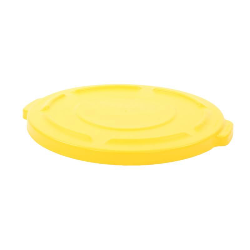 Image of   Låg, Rubbermaid Brute, gul, til container *Denne vare tages ikke retur*