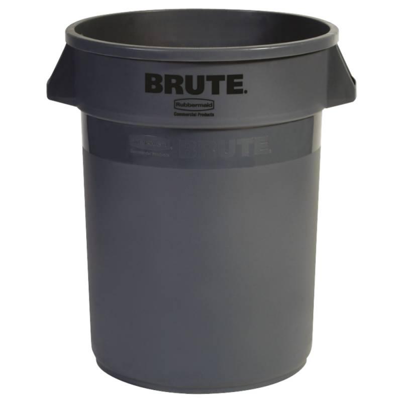 Affaldsspand, Rubbermaid Brute, 121 l, grå *Denne vare tages ikke retur*