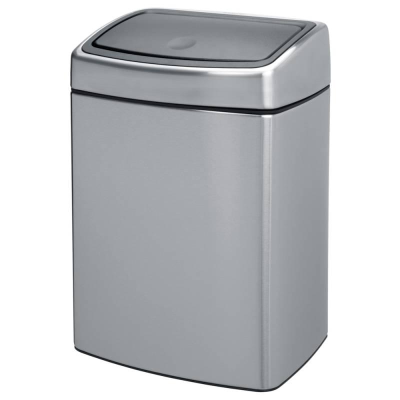 Image of   Affaldsspand, Brabantia Touch bin, 10 l, stål mat *Denne vare tages ikke retur*