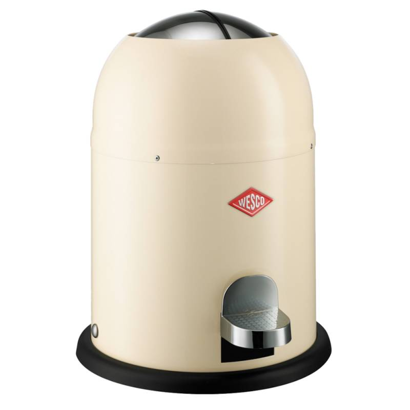 Image of   Pedalspand, Wesco Single master, 9 l, creme *Denne vare tages ikke retur*