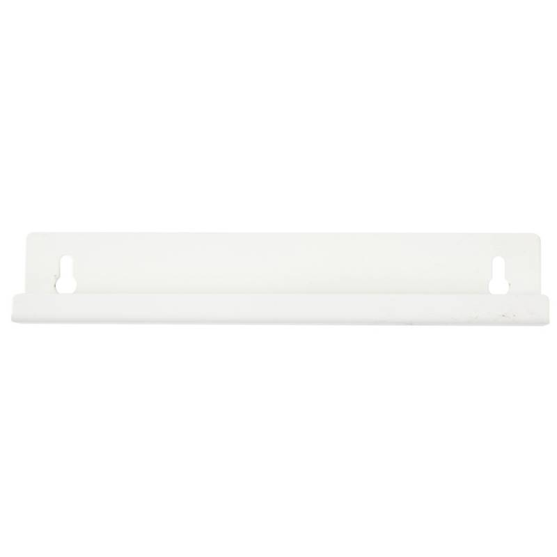 Image of   Vægbeslag, hvid, til 50 l plastspand m sving låg