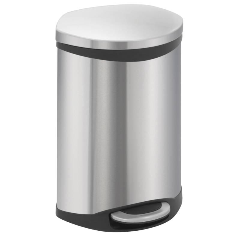 Image of   Pedalspand, EKO Shell-bin, 10 l, stål mat *Denne vare tages ikke retur*