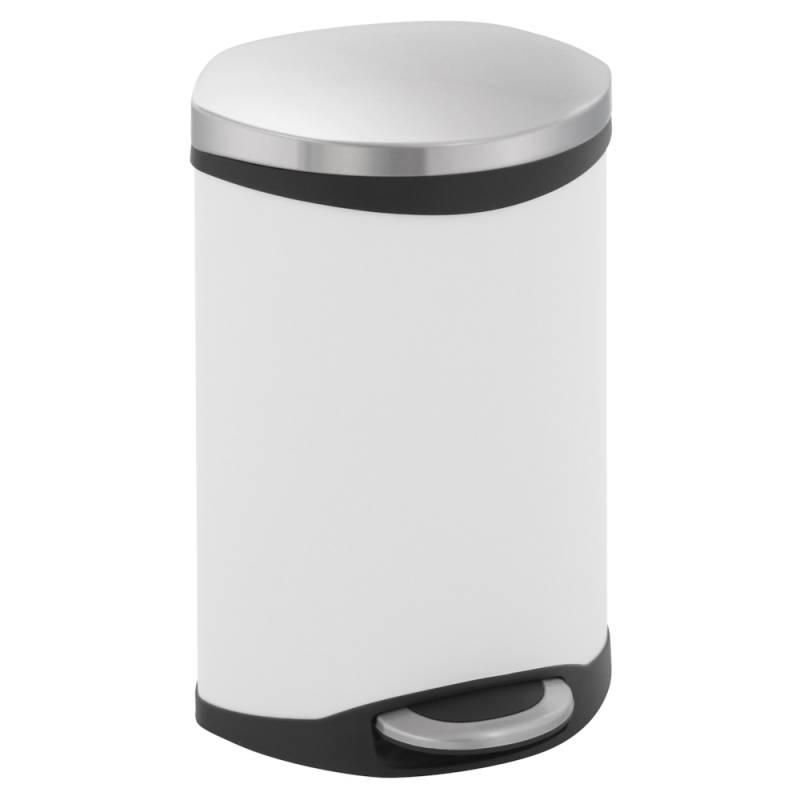 Image of   Pedalspand, EKO Shell-bin, 10 l, hvid *Denne vare tages ikke retur*