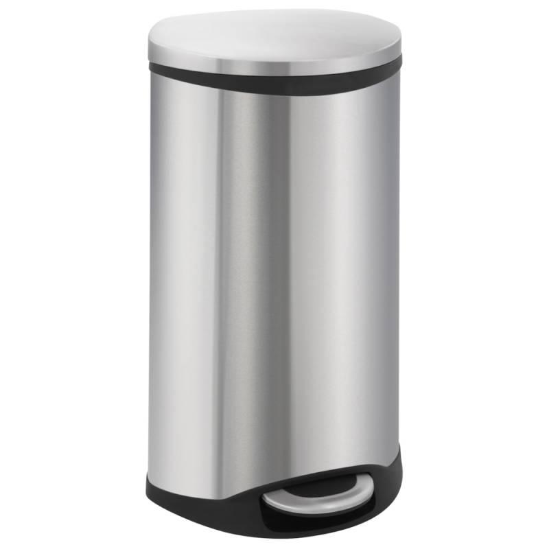 Image of   Pedalspand, EKO Shell-bin, 30 l, stål mat *Denne vare tages ikke retur*