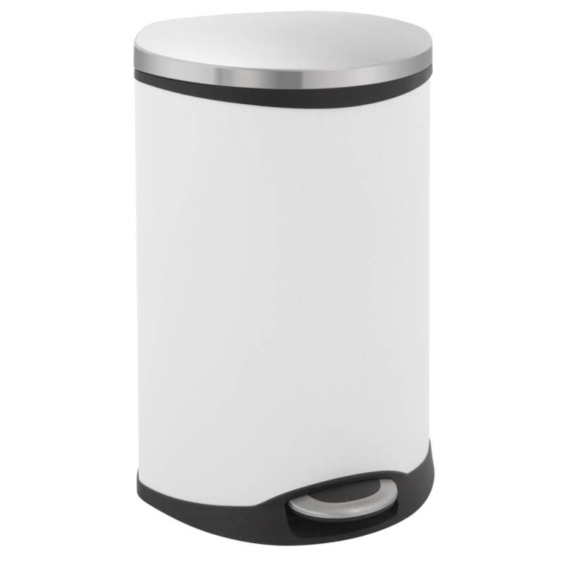 Image of   Pedalspand, EKO Shell-bin, 44 l, hvid, 2-rums *Denne vare tages ikke retur*