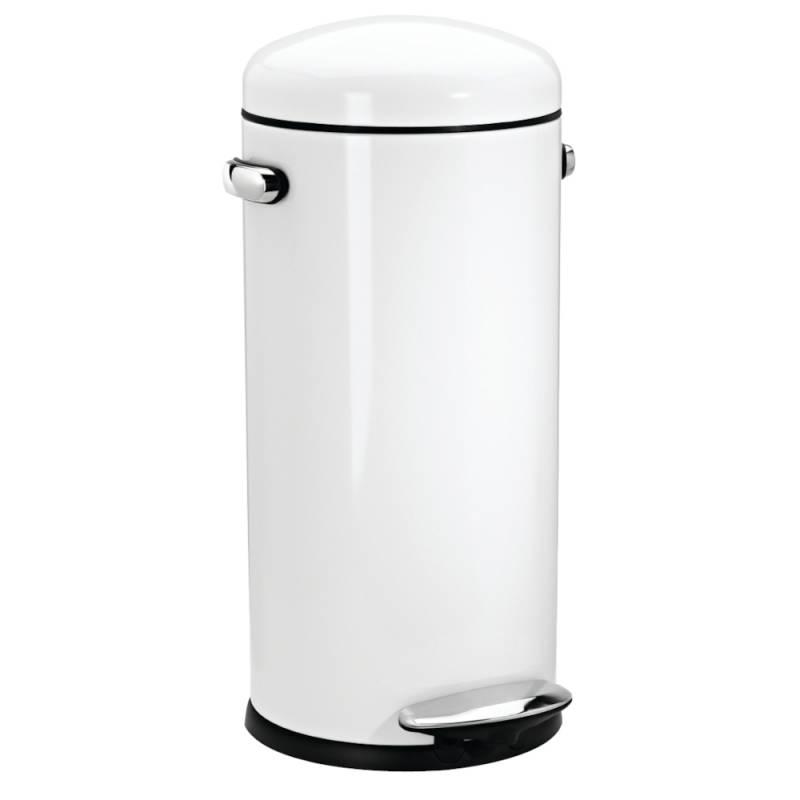 Image of   Pedalspand, Simplehuman, 30 l, hvid *Denne vare tages ikke retur*