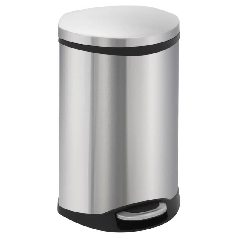 Image of   Pedalspand, EKO Shell-bin, 18 l, stål mat *Denne vare tages ikke retur*