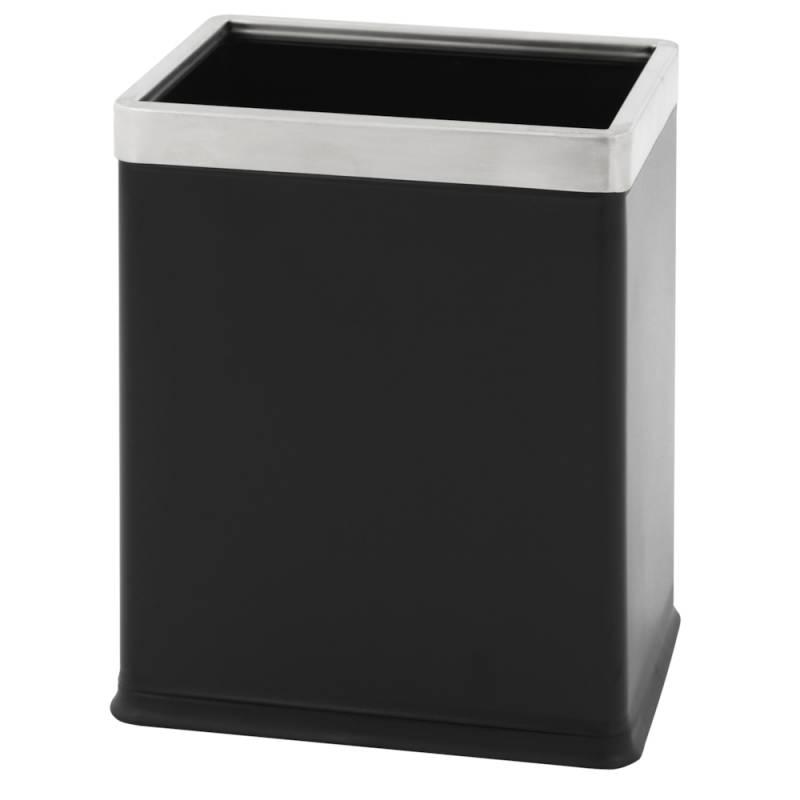Papirkurv, 10 l, sort *Denne vare tages ikke retur*