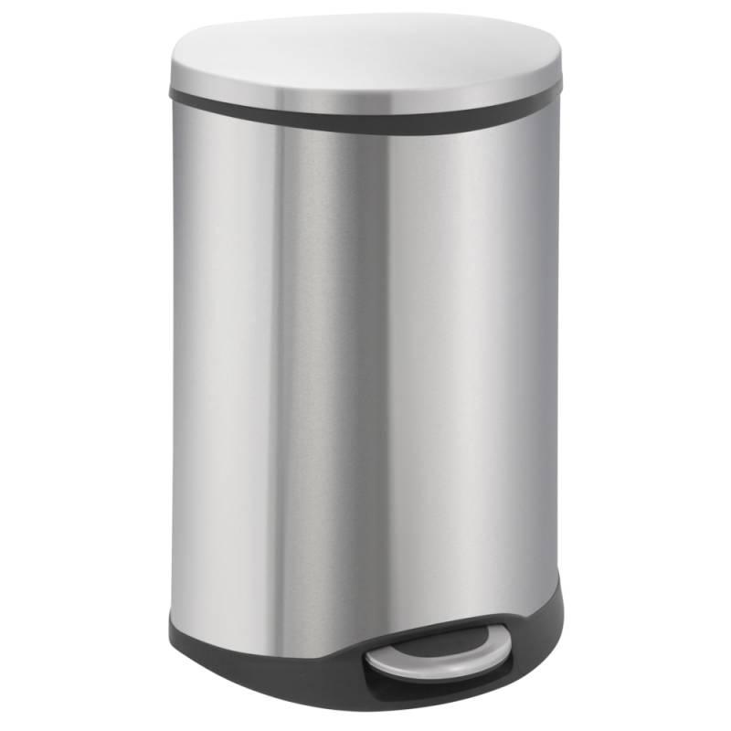 Image of   Pedalspand, EKO Shell-bin, 50 l, stål mat