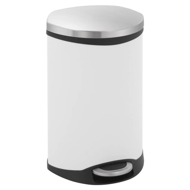 Image of   Pedalspand, EKO Shell-bin, 18 l, hvid *Denne vare tages ikke retur*