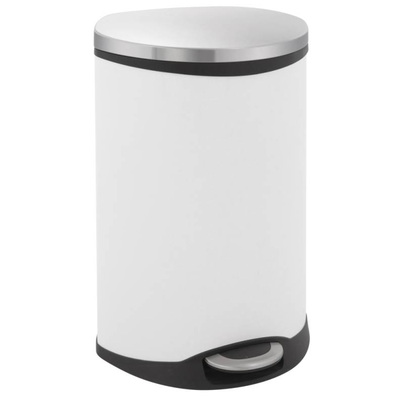 Image of   Pedalspand, EKO Shell-bin, 50 l, hvid