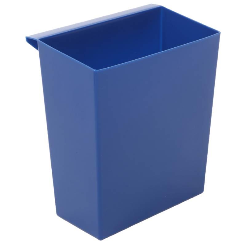 Indsats, 9,5 l, blå, til firkantet affaldsspand *Denne vare tages ikke retur*
