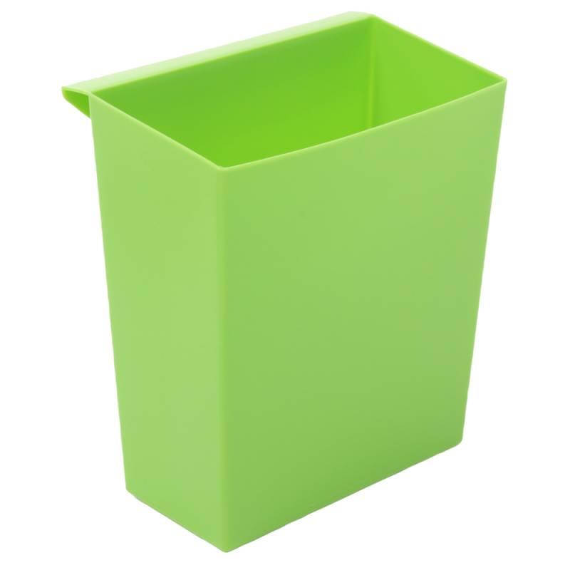 Indsats, 9,5 l, grøn, til firkantet affaldsspand *Denne vare tages ikke retur*