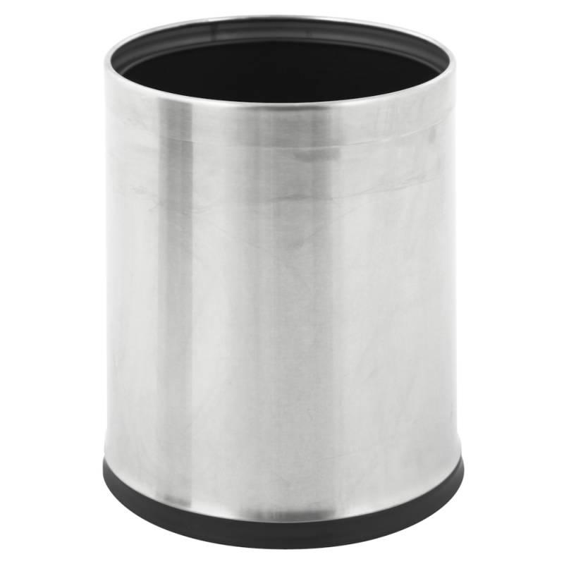 Papirkurv, 10 l, stål, skjuler posen *Denne vare tages ikke retur*