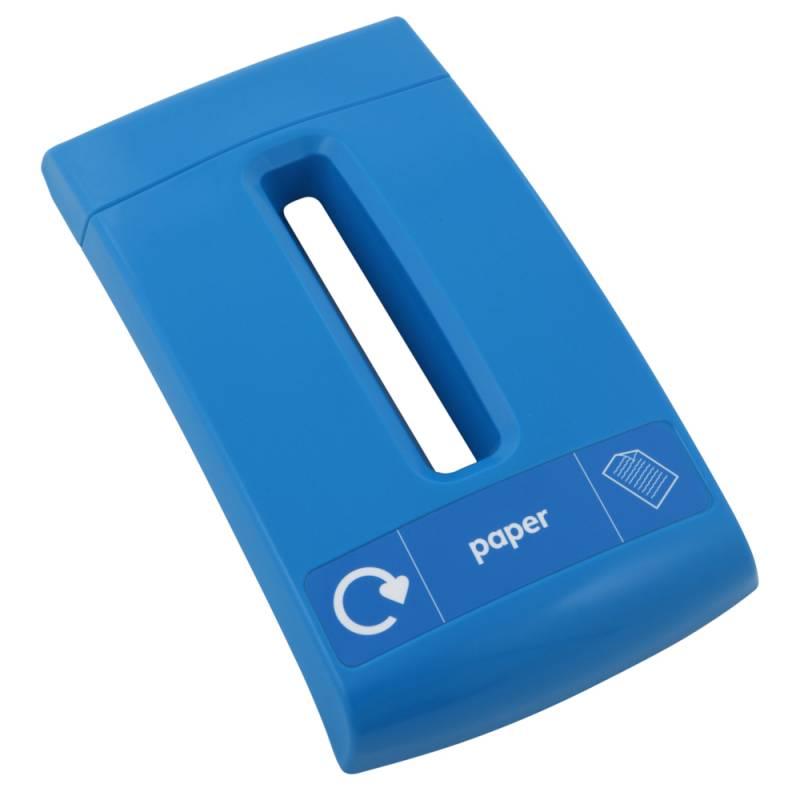 Image of   Låg, Enviro, blå, med sliske, til papir *Denne vare tages ikke retur*