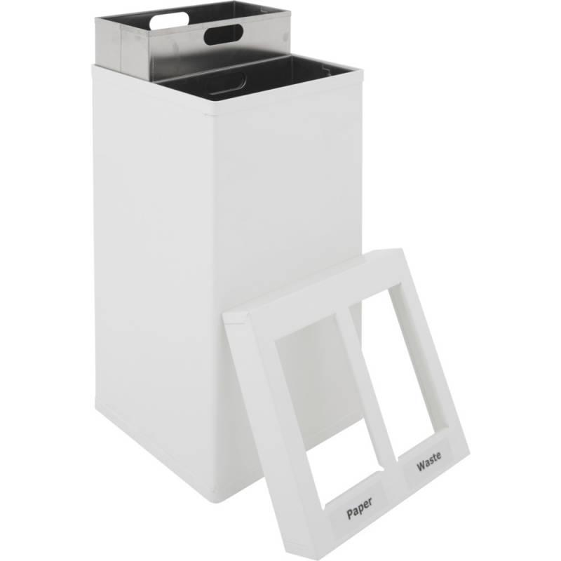 Image of   Affaldsspand, Carro-Line Carro-Mix, 55 l, hvid *Denne vare tages ikke retur*