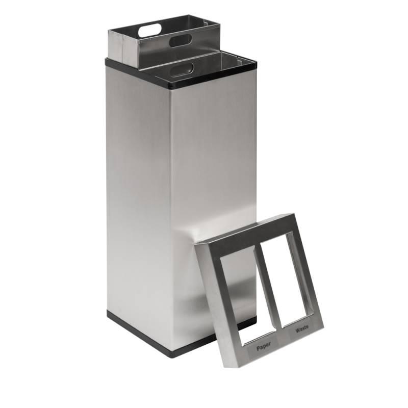 Image of   Affaldsspand, Carro-Line Carro-Mix, 110 l, hvid *Denne vare tages ikke retur*