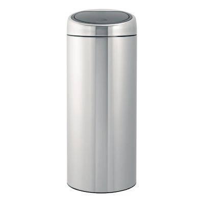Image of   Affaldsspand, Brabantia Touch bin, 30 l, stål mat *Denne vare tages ikke retur*