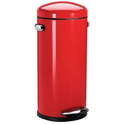 Pedalspand, Simplehuman, 30 l, rød *Denne vare tages ikke retur*
