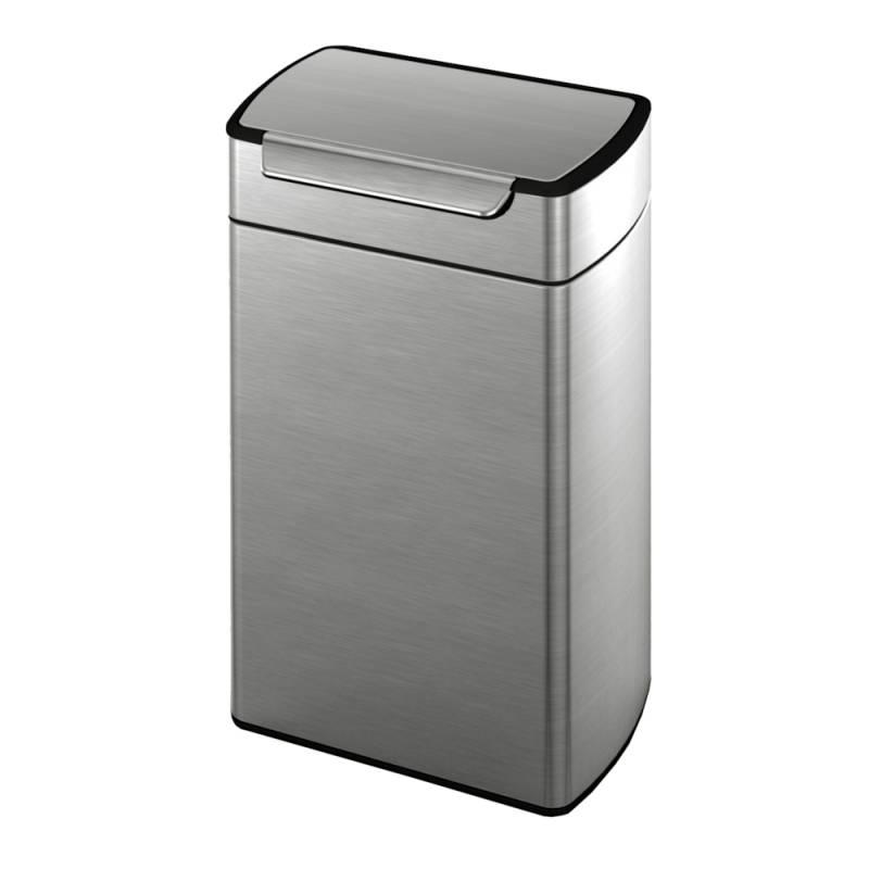 Image of   Affaldsspand, Simplehuman Touch-Bar bin, 40 l, stål mat *Denne vare tages ikke retur*