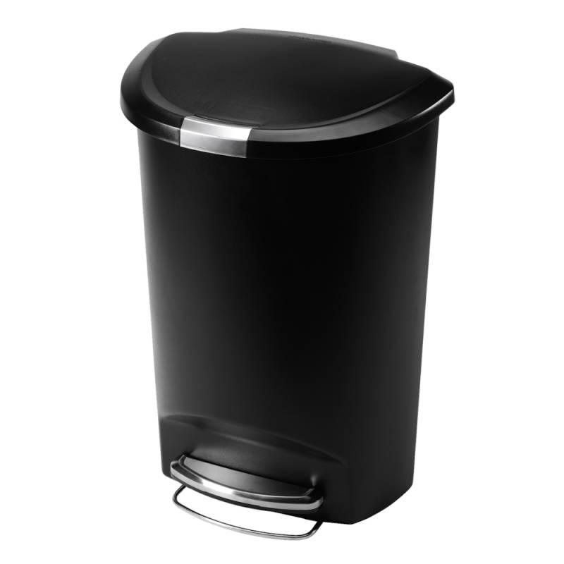 Image of   Pedalspand, Simplehuman, 50 l, sort *Denne vare tages ikke retur*
