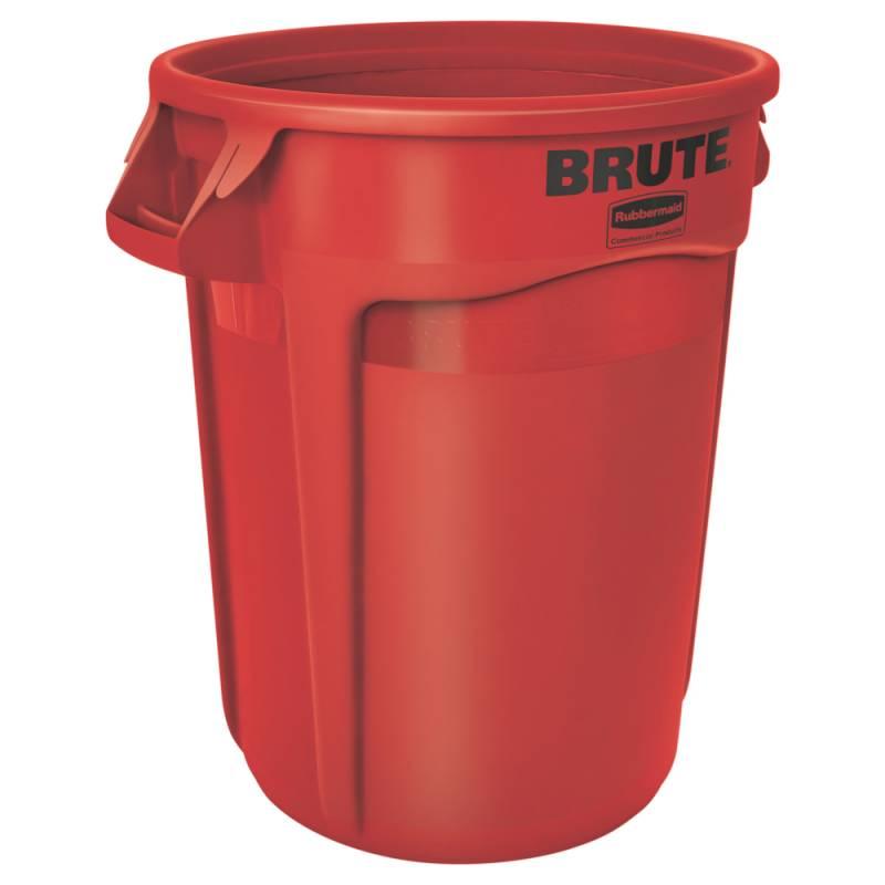 Image of   Affaldsspand, Rubbermaid Brute, 121 l, rød *Denne vare tages ikke retur*