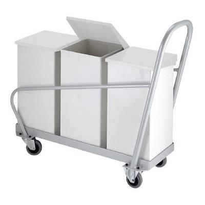 Vogn, Carro-Line, hvid *Denne vare tages ikke retur*