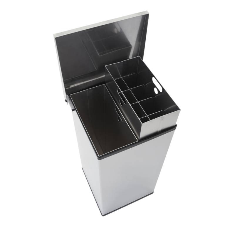 Affaldsspand, Carro-Line Carro-Mix, 110 l, stål mat *Denne vare tages ikke retur*
