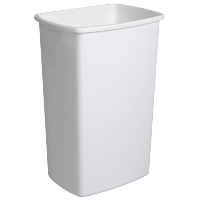 Image of   Affaldsspand, 40x30x58,5cm, 50 l, hvid, plast