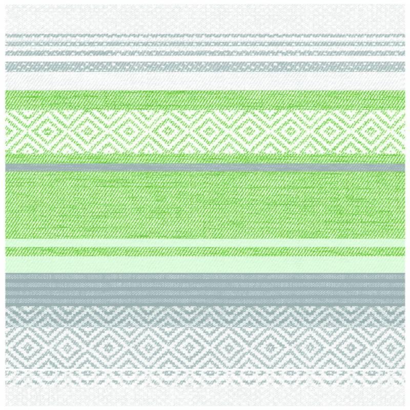Image of   Middagsserviet, Lagos, 1/4 fold, 40x40cm, grøn, Linclass