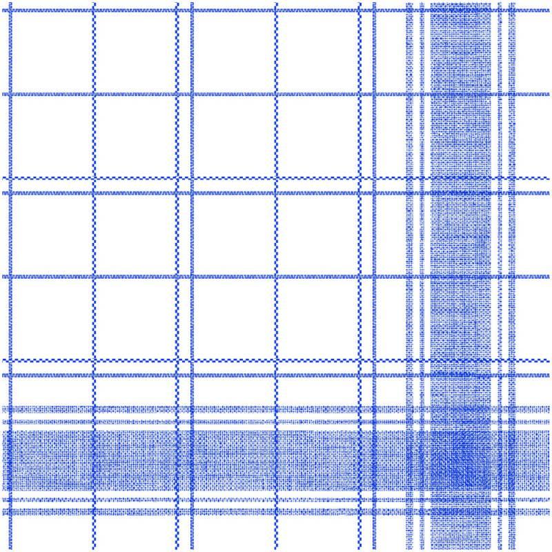 Image of   Middagsserviet, Nadeem, 1/4 fold, 48x48cm, blå, Linclass/airlaid