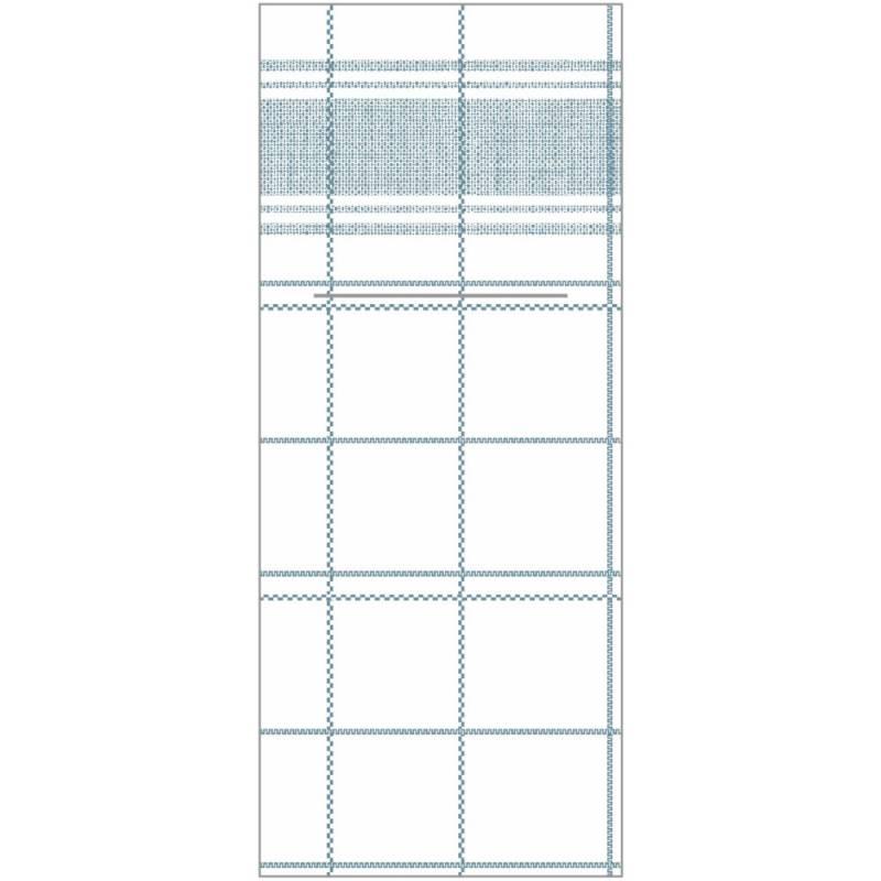 Image of   Bestikserviet, Nadeem, 1/8 fold, 48x40cm, grå, Linclass/airlaid