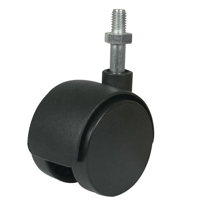 Hjul, Sækko-Boy, Ø5cm, sort