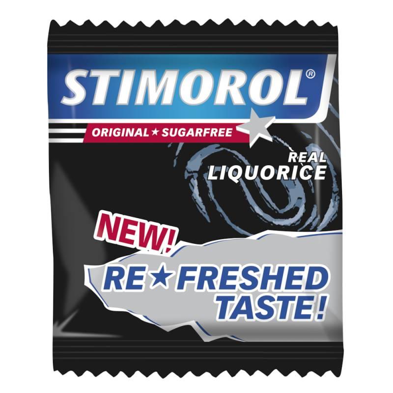Image of   Tyggegummi, Stimorol, Real Liquorice, 2-pak, 725 g *Denne vare tages ikke retur*