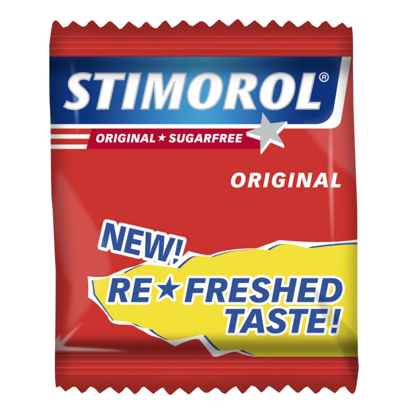Image of   Tyggegummi, Stimorol, Original, 2-pak, 500 g *Denne vare tages ikke retur*