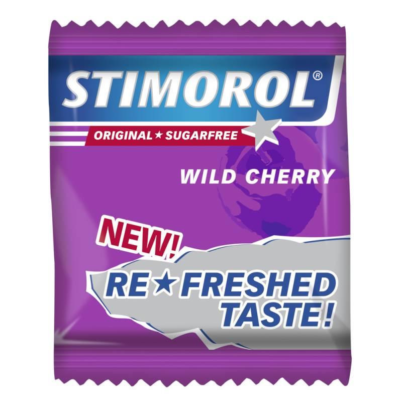 Image of   Tyggegummi, Stimorol, Wild Cherry, 2-pak, 725 g *Denne vare tages ikke retur*