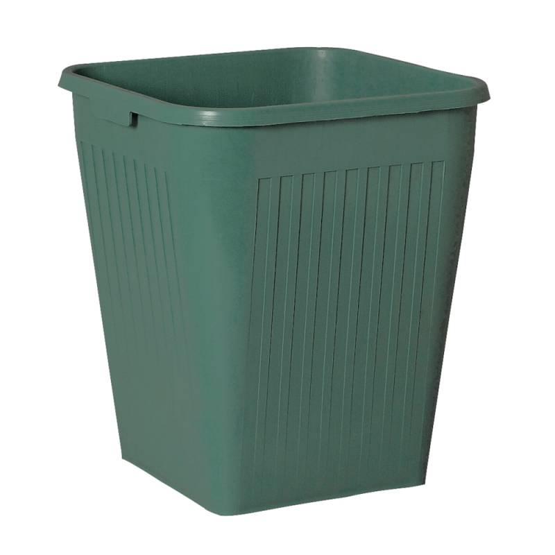 Papirkurv, Bantex, 25 l, grøn