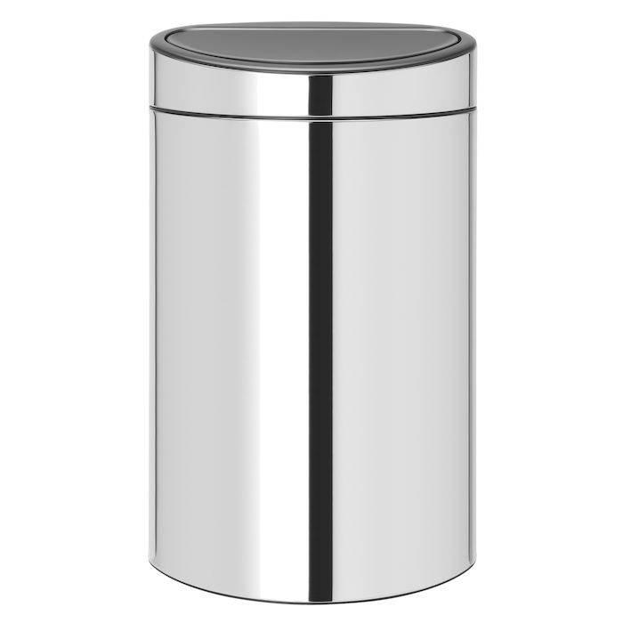 Image of   Affaldsspand, Brabantia Touch bin, 40 l, stål