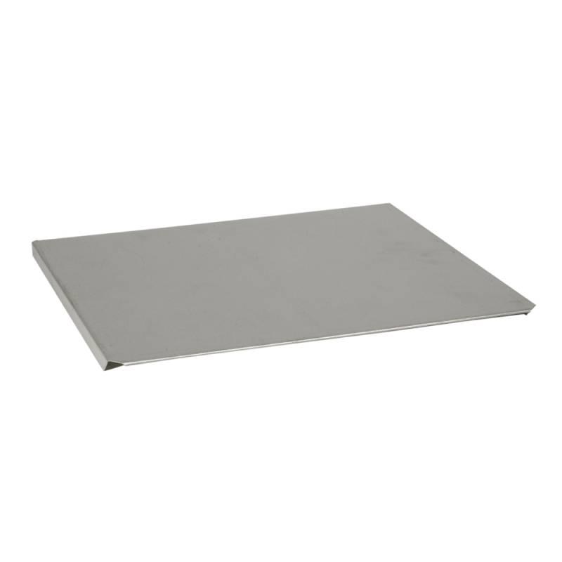 Låg, 37x33,5x1,5cm, stål