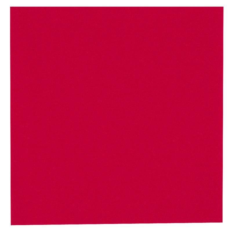 Middagsserviet, Abena Gastro-Line, 2-lags, 1/4 fold, 40x40cm, rød, 100% nyfiber