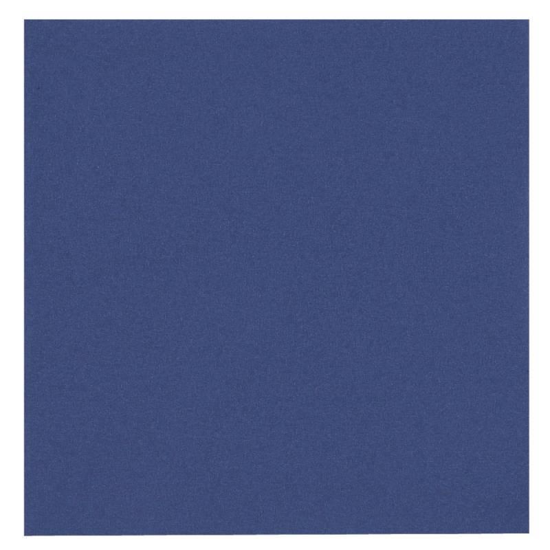 Image of   Frokostserviet, 3-lags, 1/4 fold, 33x33cm, mørkeblå, 100% nyfiber