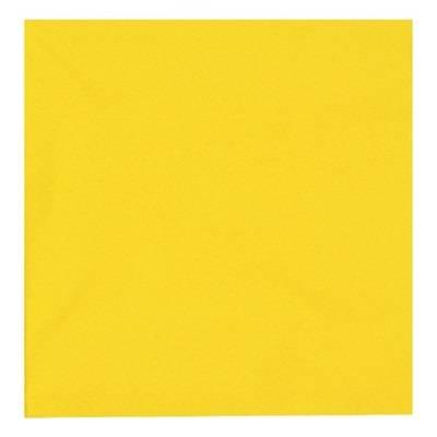 Image of   Frokostserviet, Abena Gastro-Line, 3-lags, 1/4 fold, 33x33cm, gul, 100% nyfiber
