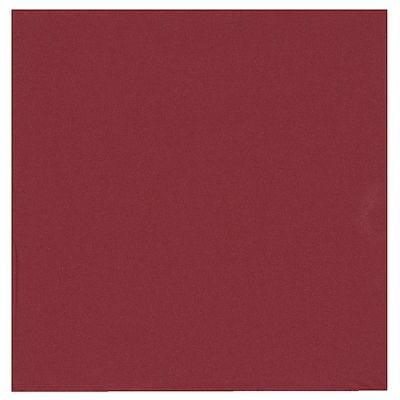 Image of   Frokostserviet, Abena Gastro-Line, 3-lags, 1/4 fold, 33x33cm, bordeaux, 100% nyfiber