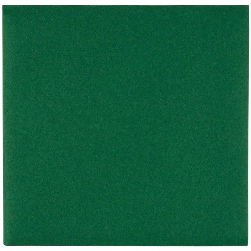Image of   Middagsserviet, Abena Gastro-Line, 1/4 fold, 48x48cm, mørkegrøn, airlaid
